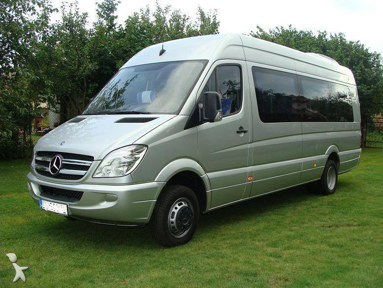 minibus mercedes sprinter 519 cdi euro 5 occasion n 285392. Black Bedroom Furniture Sets. Home Design Ideas