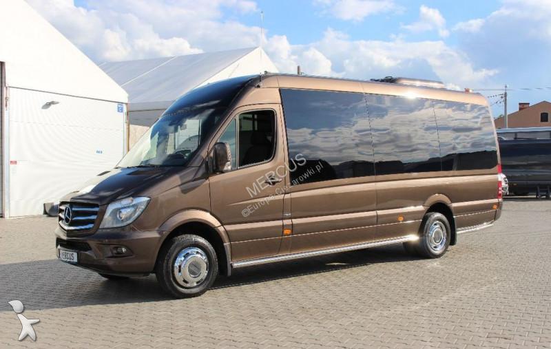 minibus mercedes sprinter 519 bluetec gazoil neuf n 2339360. Black Bedroom Furniture Sets. Home Design Ideas