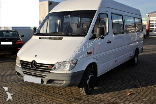 minibus mercedes sprinter 411 occasion n 2457623. Black Bedroom Furniture Sets. Home Design Ideas