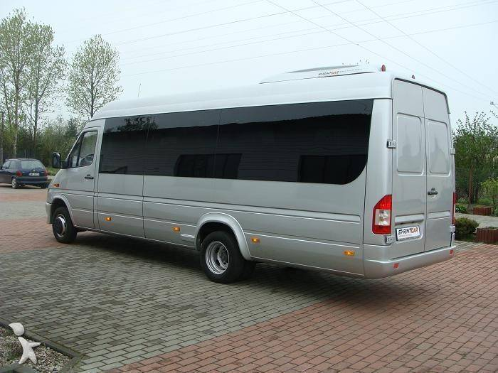 minibus mercedes sprinter 416 cdi occasion n 285370. Black Bedroom Furniture Sets. Home Design Ideas