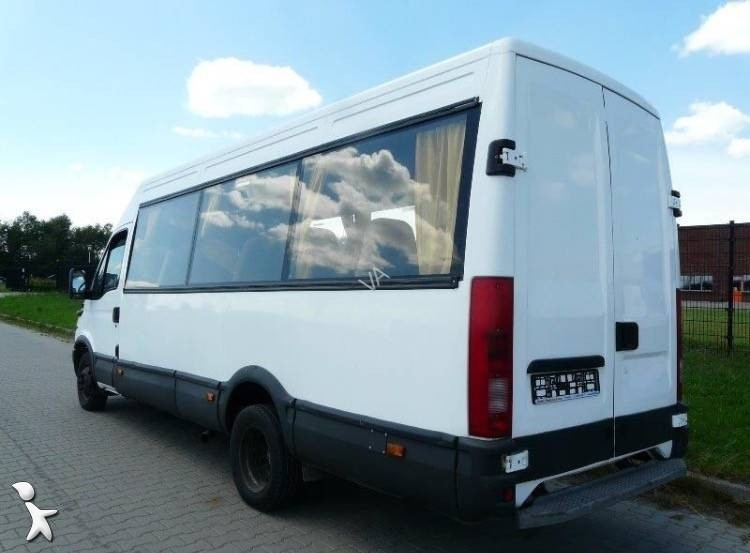 minibus iveco daily daily 50 v 13 gazoil euro 2 occasion. Black Bedroom Furniture Sets. Home Design Ideas