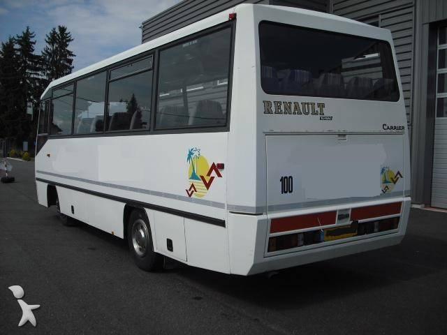 minibus renault carrier gazoil occasion n 223619. Black Bedroom Furniture Sets. Home Design Ideas