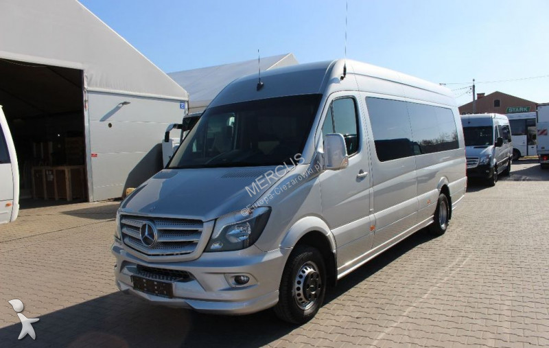 minibus mercedes sprinter 519 bluetec gazoil occasion n 2339246. Black Bedroom Furniture Sets. Home Design Ideas
