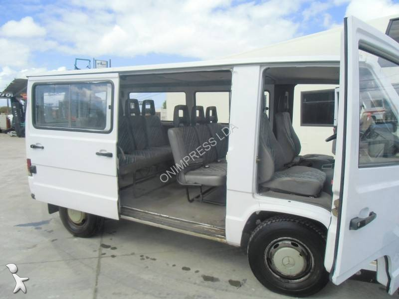 used mercedes o 100 minibus mb 100 d euro 1 n 980347. Black Bedroom Furniture Sets. Home Design Ideas
