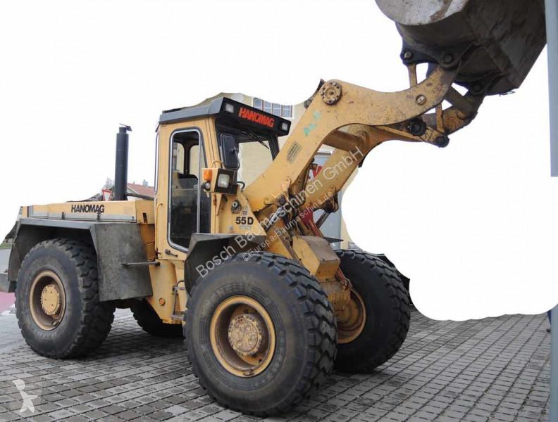 Chargeuse Hanomag HANOMAG55D Wheel loader / Radlader