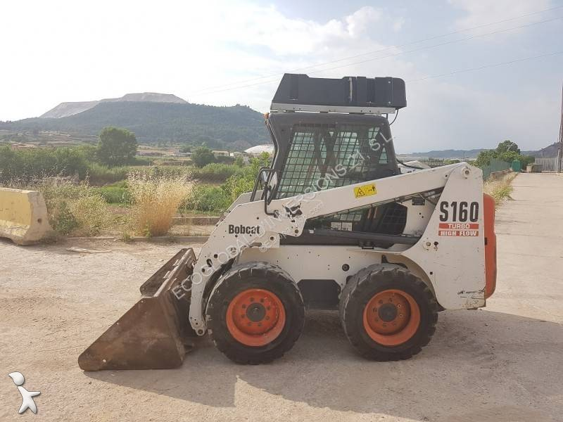 mini pala cargadora bobcat s 160 high flow usada