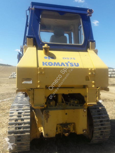 Komatsu D57S-1 loader