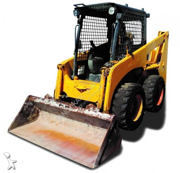 Komatsu SK714 loader
