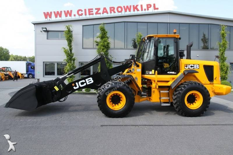 JCB WHEEL LOADER 16.5 T JCB 436E HT loader