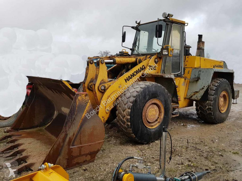 Chargeuse Hanomag 70E