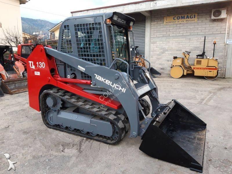 Vedere le foto Pala Takeuchi Minipala skid steer loader takeuchi tl 130