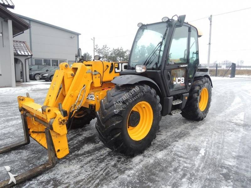 Chargeuse JCB 536-70 Agri XTRA (536-60 SUPER Manitou 735 634 CAT)