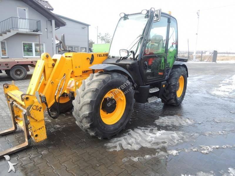 JCB 531-70 AGRI SUPER (536-60 Manitou 735 634 CAT) loader