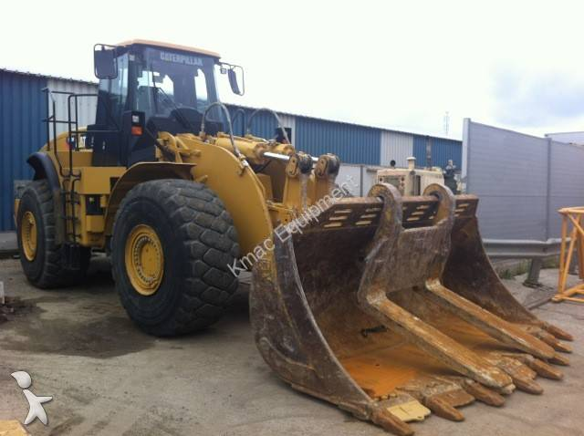Caterpillar Block Handler loader