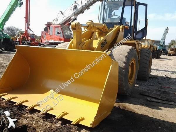View images Caterpillar 966E loader