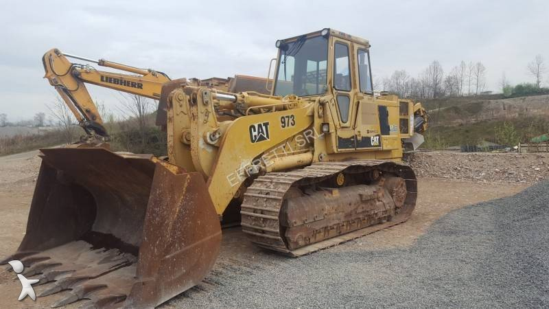 Used caterpillar 973 track loader n1978507 view images caterpillar loader publicscrutiny Choice Image