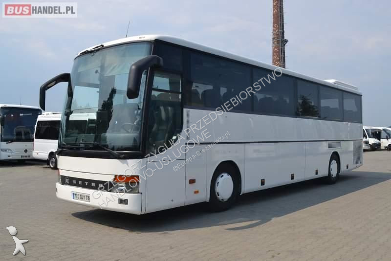 Setra GT HD / SPROWADZONA / MANUAL / WC / EURO 3 coach