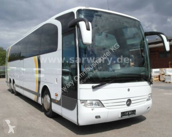 Ver as fotos Autocarro Mercedes O 580 Travego 16 RHD-M/ 56 Sitze/ WC/ 6 Gang/ TV