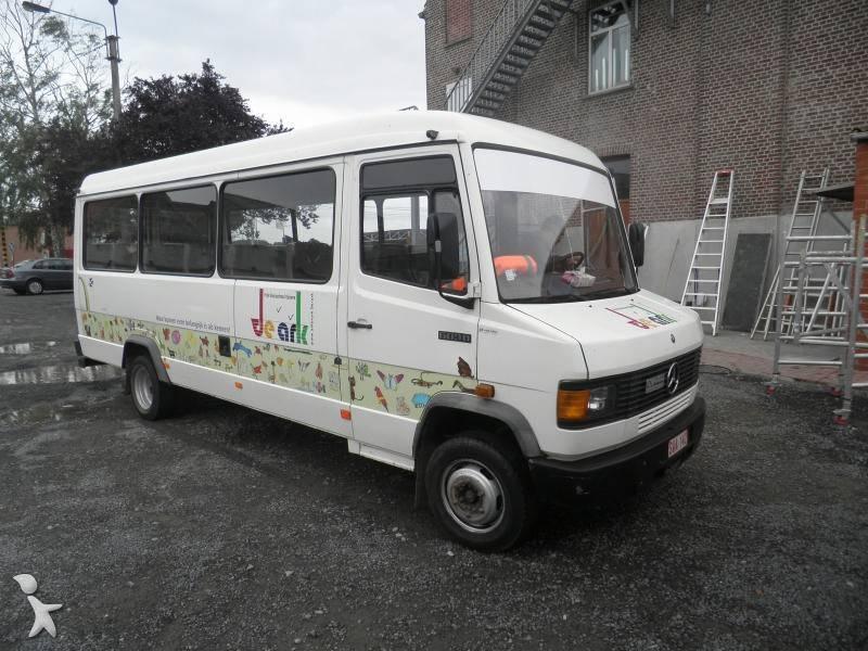 autocar mercedes transport scolaire 609 d gazoil occasion n 413201. Black Bedroom Furniture Sets. Home Design Ideas