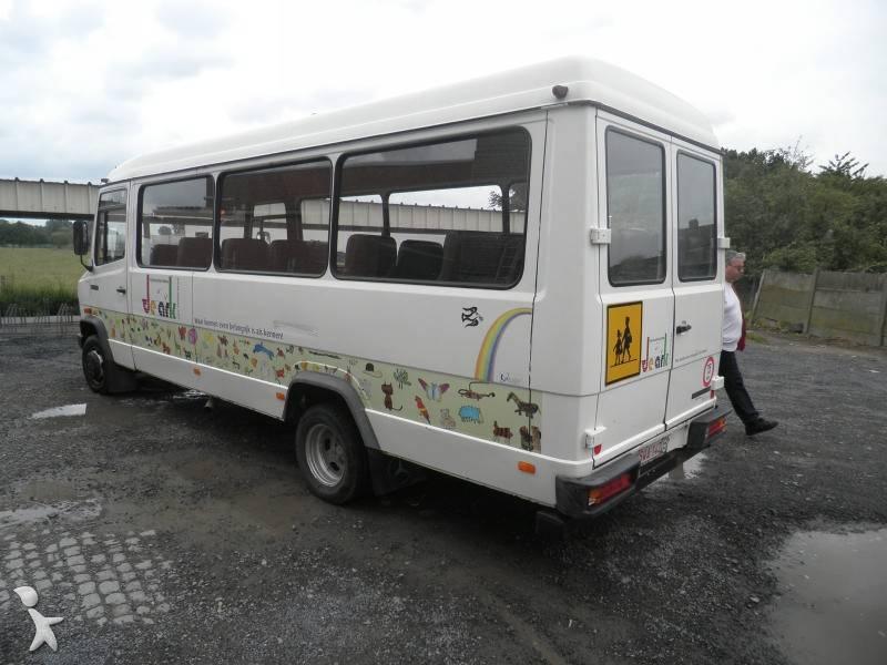 autocar mercedes transport scolaire 609 d gazoil occasion. Black Bedroom Furniture Sets. Home Design Ideas