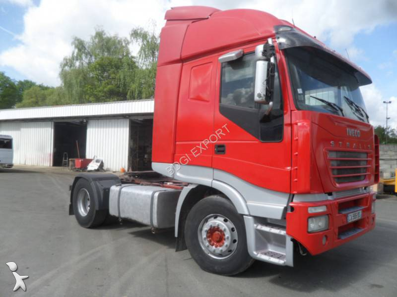 tracteur iveco standard stralis 540 4x2 euro 3 occasion