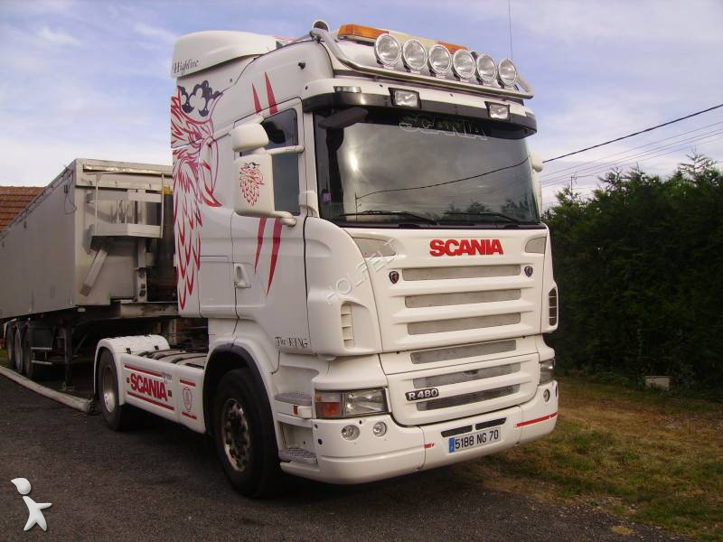 tracteur scania standard r 164r480 4x2 gazoil euro 4 occasion n 1367669. Black Bedroom Furniture Sets. Home Design Ideas