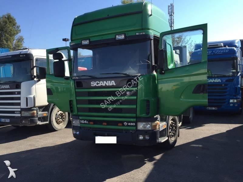 tracteur standard occasion scania l 164l480 gazoil annonce n 1448545. Black Bedroom Furniture Sets. Home Design Ideas