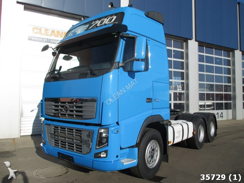 tracteur volvo standard fh 6x4 euro 5 100 ton 6x4 gazoil euro 5 occasion n 1493310. Black Bedroom Furniture Sets. Home Design Ideas