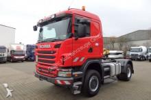 cabeza tractora Scania G400 4x4 EURO 5 SZM Kipphyd./ Deutsch.