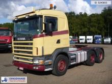 Scania R144-530 6x4 manual + Retarder tractor unit