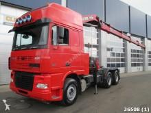trattore DAF XF FTT 95 530 6X4 Kiphydraulic Hiab 42 ton/meter
