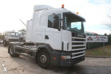 tracteur Scania 114L-380 MANUAL 3+3 - A/C - NEW TIRES - BELGIUM