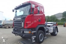 tracteur Scania G440 4x4 SZM Euro5 mit Kipphyd. Blatt - Luft