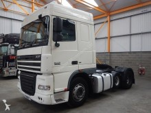 DAF XF105 FTP SPACE CAB 6 X 2 TRACTOR UNIT - 2008 - YX58 TFF tractor unit