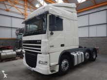 DAF XF105, 460 EURO 5 SPACE CAB 6 X 2 TRACTOR UNIT - 2011 - PK11 JYL tractor unit