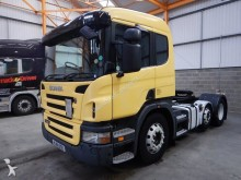 Scania P420 (SCR) EURO 5 PET REGS 6 X 2 TRACTOR UNIT - 2011 - NJ61 OSE tractor unit