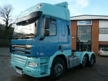 DAF CF85 SPACE CAB TRACTOR UNIT 2011 PX61 RNV tractor unit