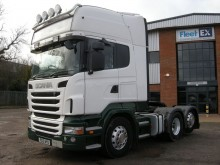 Scania R440 TOPLINE TAG AXLE TRACTOR UNIT 2012 PX12 NYD tractor unit