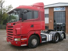 tracteur Scania R400 TAG AXLE TRACTOR UNIT 2009 SF59 DXE