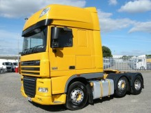 DAF XF105 460 SUPERSPACE TRACTOR UNIT 2011 PN11 HNV tractor unit