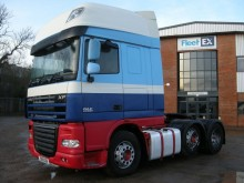 DAF XF105 510 SUPERSPACE TRACTOR UNIT 2011 SV11 AZW tractor unit