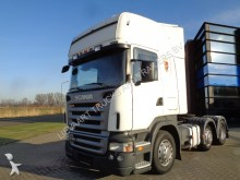 cabeza tractora Scania R420 Topline / 6x2 / Manual / Retarder / 2 Tanks