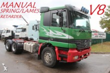 Mercedes 2653 - 6x4 - STEEL SPRING / SUSP LAMES - MANUAL tractor unit