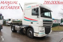 tracteur DAF XF 105.460 - MANUAL ZF + RETARDER - 2 TANKS - SP