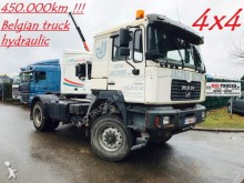 tracteur MAN FE 410 A - 4x4 - MANUAL ZF - HYDRAULICS - LOW MI