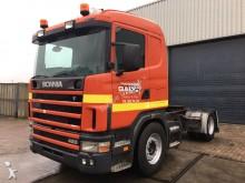 Scania L 124 420 Manua - Airco - Retarder - Stee/Air tractor unit