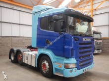 Scania R480 HIGHLINE 6 X 2 TRACTOR UNIT - 2009 - FJ58 XGE tractor unit