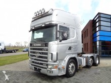 cabeza tractora Scania 124L420 Topline / Manual / 6x2 / 2 Tanks