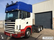 cabeza tractora Scania L 124 420 6x2 - Airco - GSR900 with Cutch