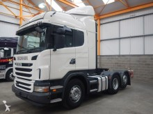 tracteur Scania G440 EURO 5 HIGHLINE 6 X 2 TAG AXLE TRACTOR UNIT - 2011 - FP61 V